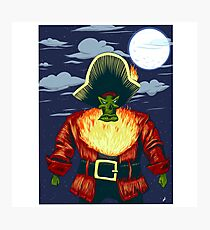 Zombie Ghost Pirate LeChuck Photographic Print