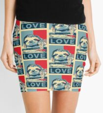 Sloth Love Mini Skirt