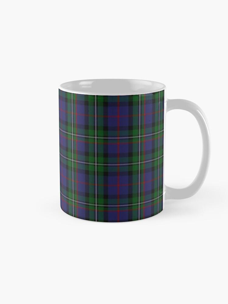 Alternate view of McPhail Hunting Tartan with Clan Name Mug