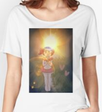 Alice in Wonderland and Kasane Teto Women's Relaxed Fit T-Shirt