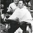 Clyde's Barbershop by Cleburnus