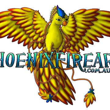 PhoenixFire Art Logo by MeaKitty