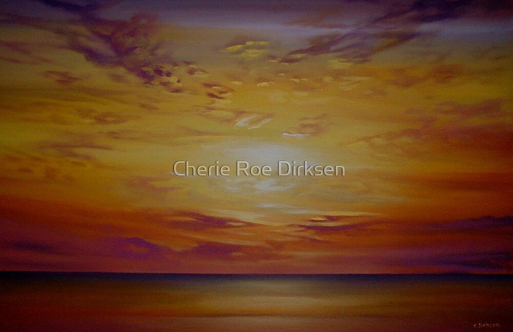 The Sunset by Cherie Roe Dirksen