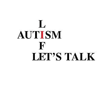 Let's Talk Autism by TartyCat