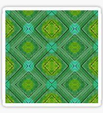 Textured Harlequin Pattern Sticker