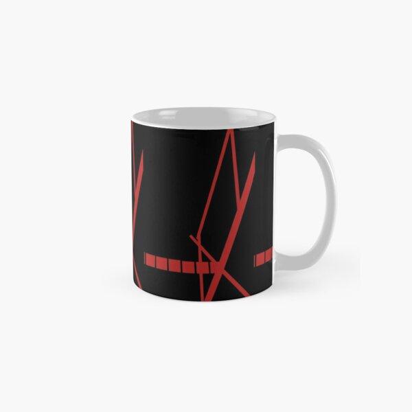 Signal black and red Classic Mug