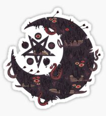 The Dark Moon Compels You to Fuck Shit Up Sticker