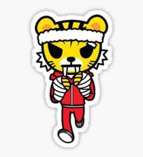 Tokidoki Boxing Tiger Sticker