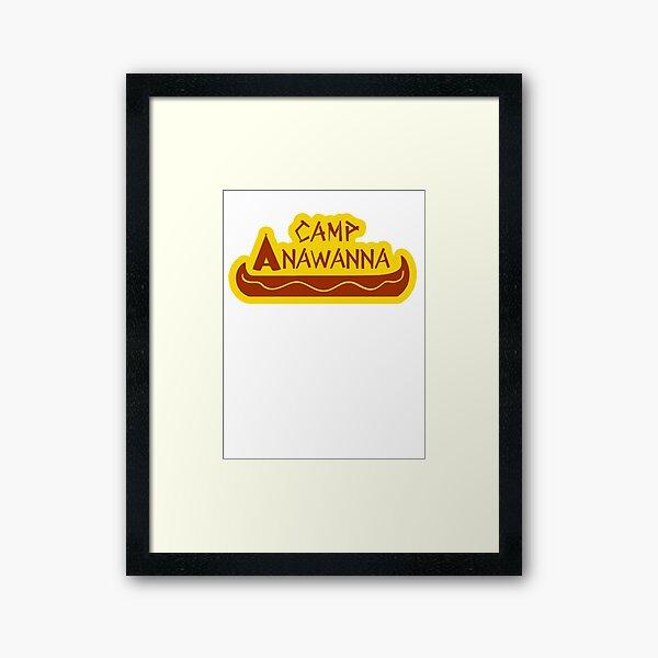 Camp Anawanna Framed Art Print
