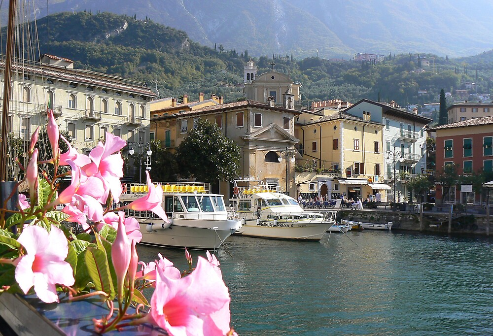 Melcasine Harbour. Lake Garda by JPPhotography