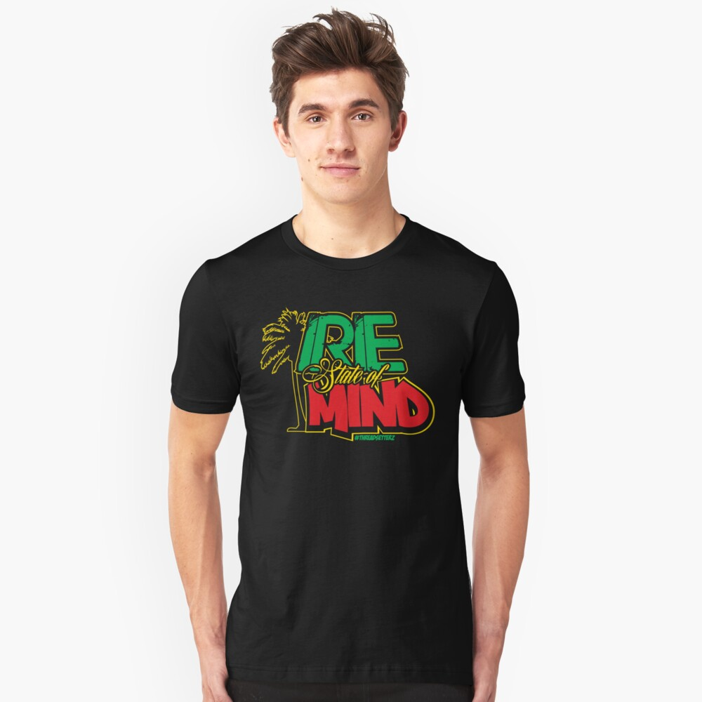 Irie State of Mind Unisex T-Shirt Front