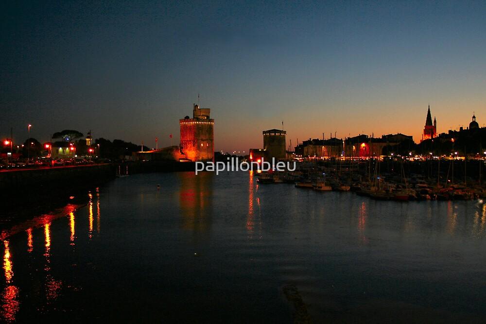 La Rochelle at Night by Pamela Jayne Smith
