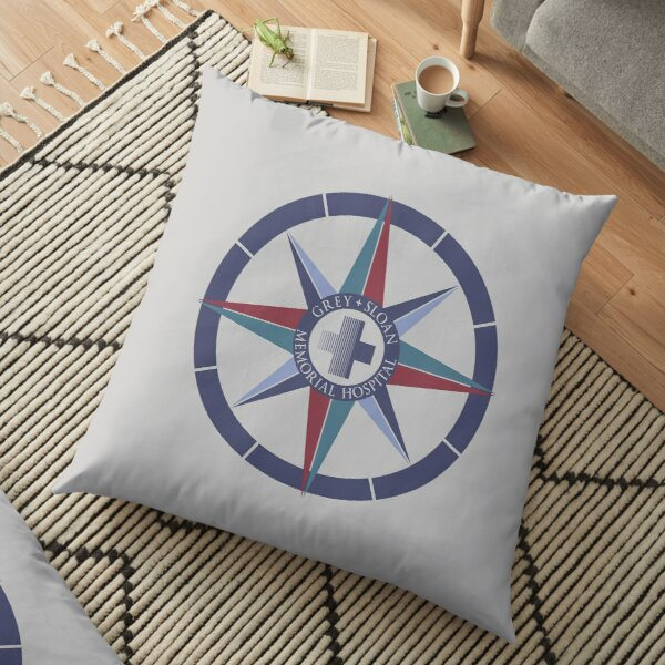 Grey Sloan Memorial Hospital Floor Pillow