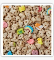 Lucky Charm Cereal Sticker