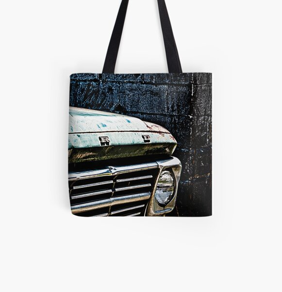 In The Middle Of Nowhere All Over Print Tote Bag