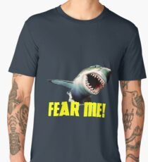 Leaping Great White Shark Men's Premium T-Shirt