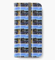 Exeter Quay iPhone Flip-Case/Hülle/Klebefolie