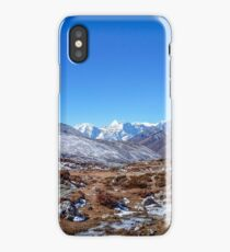 PANO Track To Dingboche iPhone Case/Skin