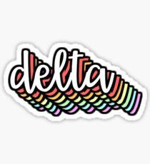 delta, Sticker