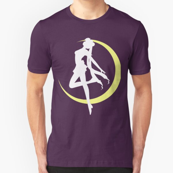 Sailor Moon logo clean Slim Fit T-Shirt