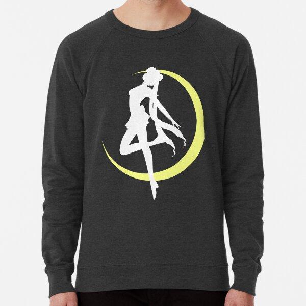 Sailor Moon logo clean Lightweight Sweatshirt