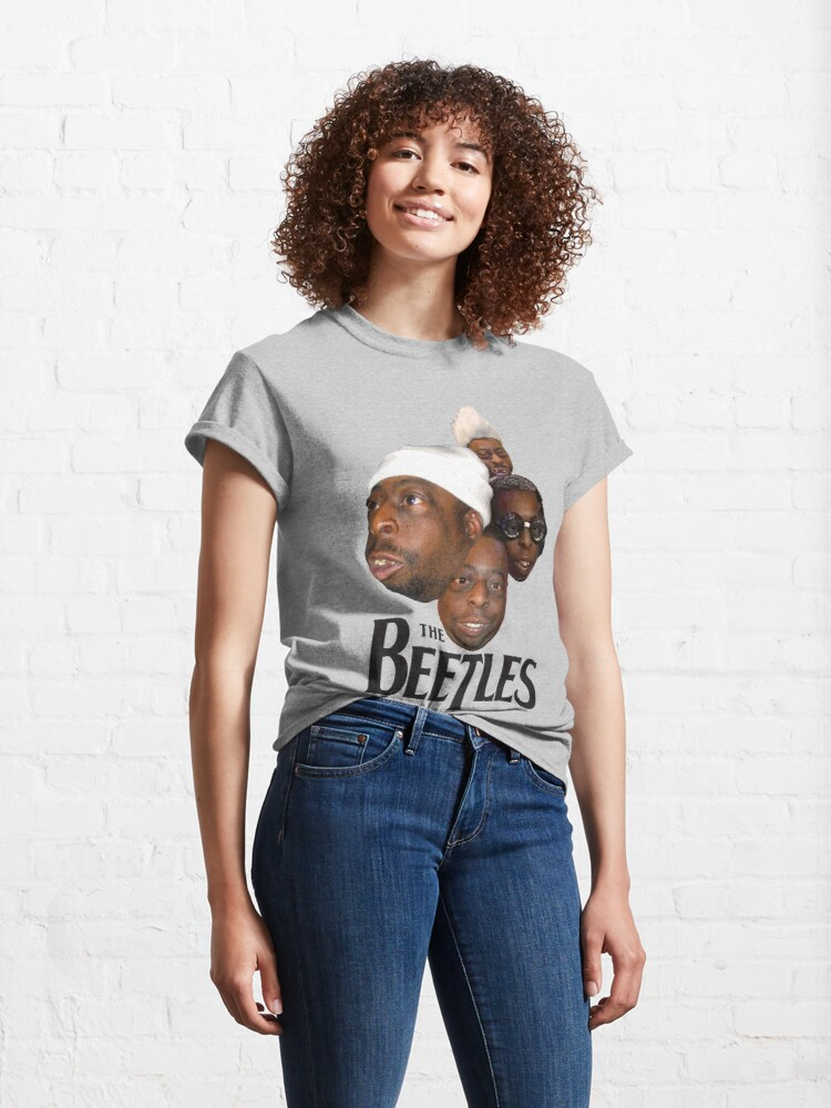 Alternate view of the beetles Classic T-Shirt