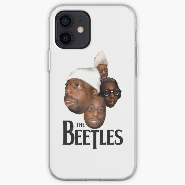los escarabajos Funda blanda para iPhone