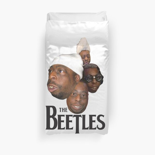 the beetles Duvet Cover
