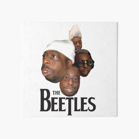 the beetles Art Board Print