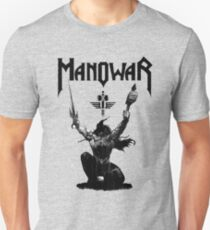 manowar - touch the rim, or the bulk and burst to break through the T-Shirt