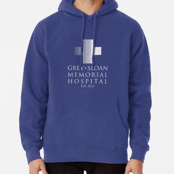 Placa de Gray Sloan Memorial Hospital Sudadera con capucha