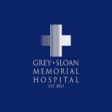 Grey Sloan Memorial Hospital Plaque by drmedusagrey