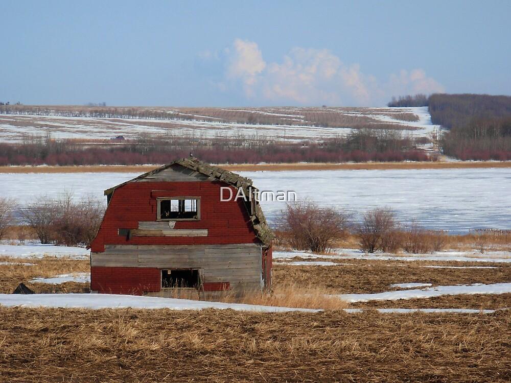 Old Barn by DAltman