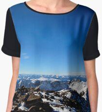 Quandary Peak View, Colorado Chiffon Top