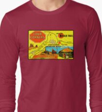 Four Corners Monument Vintage Travel Decal T-Shirt