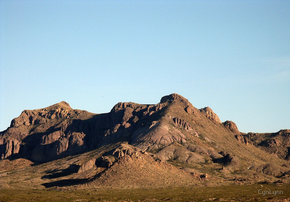 Dona Ana Mountians, New Mexico by CynLynn