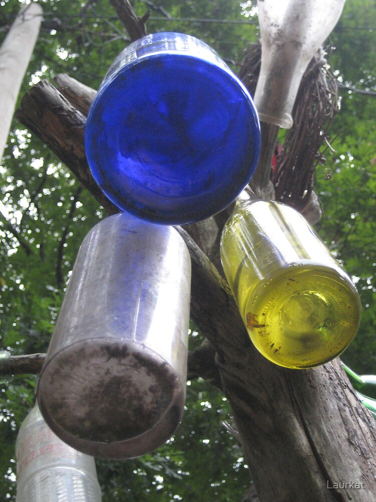 Joan's bottle tree by Laurkat