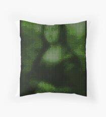 Painting By Numbers: Mona Lisa Throw Pillow