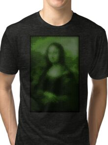 Painting By Numbers: Mona Lisa Tri-blend T-Shirt