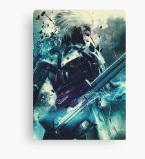 Metal Gear Rising - Raiden  Canvas Print