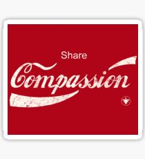Share Compassion - Positive Pop Sticker