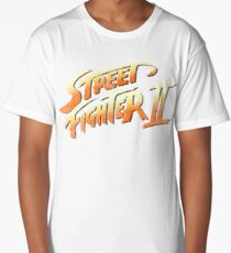 Street Fighter 2 faded Long T-Shirt