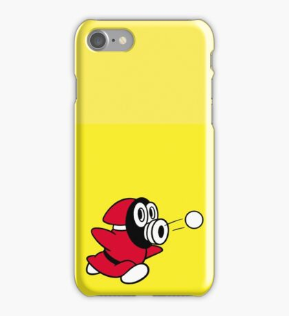 Snifit (Alternative Colour - Yellow) iPhone Case/Skin