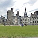Cardiff Castle by Margaret  Hyde