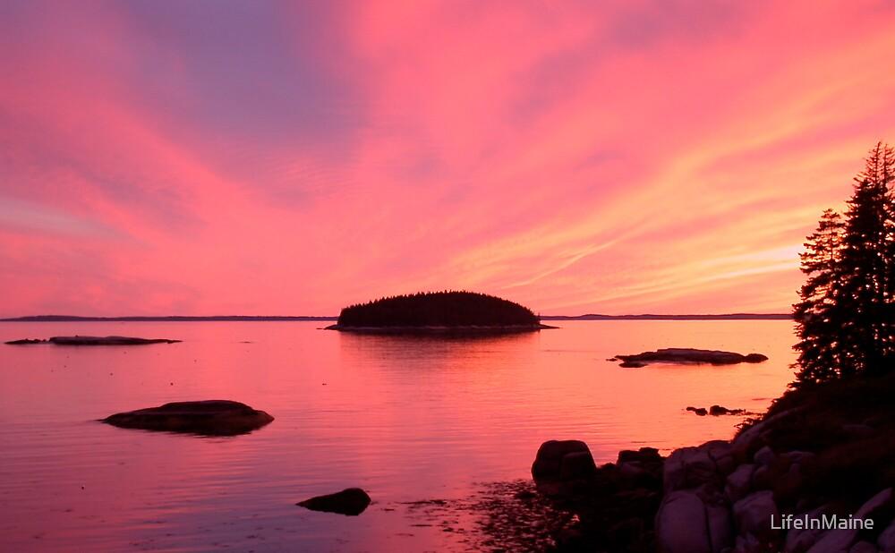 Stonington Sunset by LifeInMaine