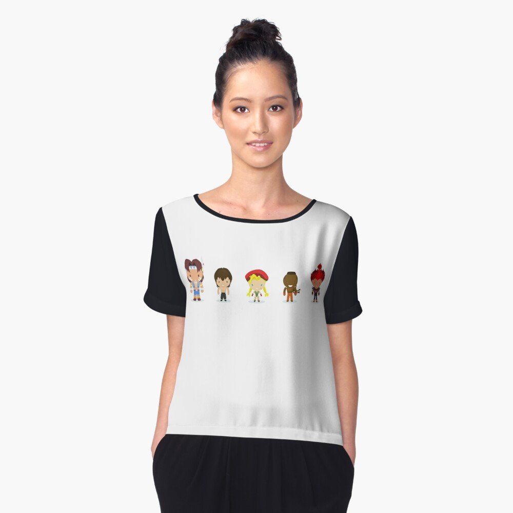 The New Challengers Women's Chiffon Top Front
