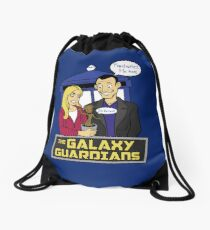 The Galaxy Guardians Drawstring Bag