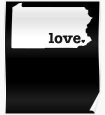 Pennsylvania Love Poster