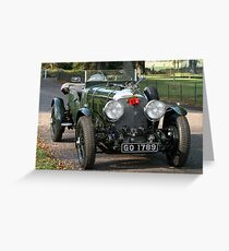 Beautiful Bentley Greeting Card