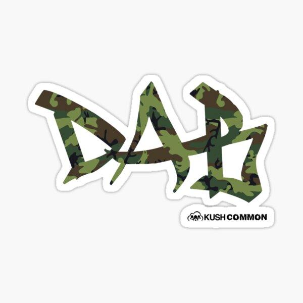 DAB camo Sticker